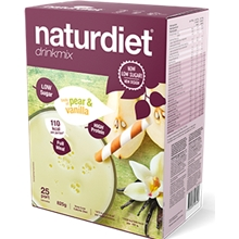 25 portioner - Pear Vanilla - Naturdiet drinkmix