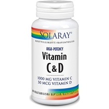Solaray Vitamin C&D