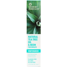 176 gram - Toothpaste Tea Tree & Neem Oil