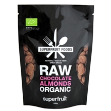 Raw Chocolate Almonds Organic