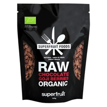 Raw Chocolate Goji Berries Organic
