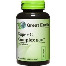 Super C Complex 500 mg 90 tabletter