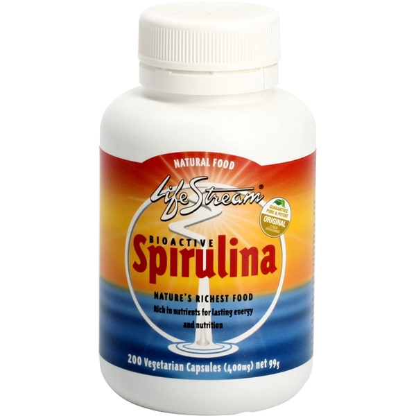 Lifestream Spirulina caps