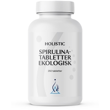 250 tabletter - Spirulina tabletter Eko