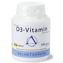 D3-vitamin Vegan 75 mcg 3000IE