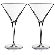 Elegante martiniglas/cocktailglas 2-pack