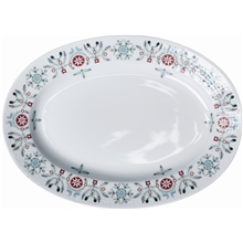 Swedish Grace Winter tallrik oval