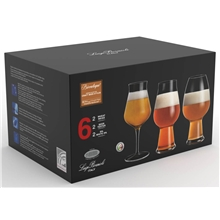 Birrateque ölglas-set tester 6-pack
