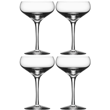 4 st/paket - More Champagne Coupe 4-pack