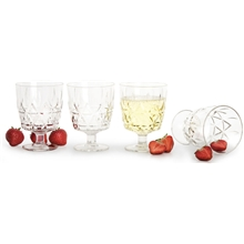 1 set - Picknick glas 4-pack
