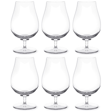 Paris bouquet Ölglas 6-pack