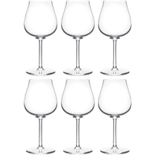 Paris bouquet Vitvinsglas 6-pack