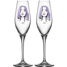 Champagneglas All About You 2-pack