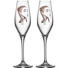 Champagneglas All About You 2-pack Forever Yours