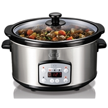C3 Slowcooker 3,5L med digital display