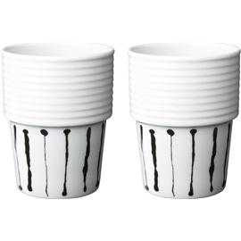 c7ceebf8f966 Filippa K Kaffe/Temugg Ink Stripe 2-pack - Porslin - Rörstrand ...