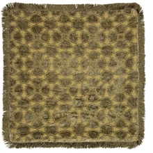 Day Mahal Chenille fringes Kuddfodral - Moss