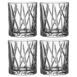 City Whiskeyglas OF 4-pack