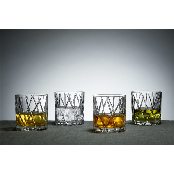 City Whiskeyglas OF 4-pack (Bild 4 av 5)