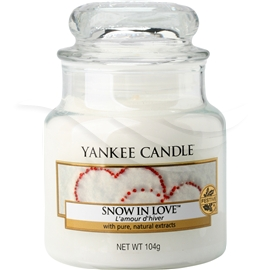Jar Snow In Love
