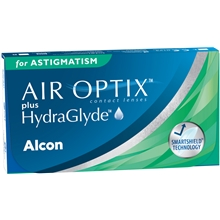 AIR OPTIX plus HydraGlyde for Astigmatism 6p