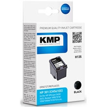 KMP H135 - HP 301 Black