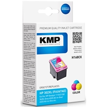 KMP H168CX - HP 302XL Tri-color