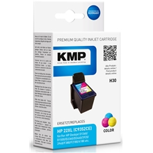 KMP H30 - HP 22XL Tri-Color 1901.4220