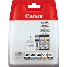 Canon PGI-580BK Black + CLI-581 Color