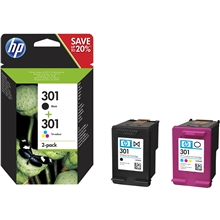 HP 301 Black / Tri-Color