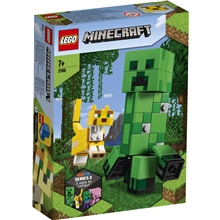 21156 LEGO Minecraft BigFig Creeper och Ozelot