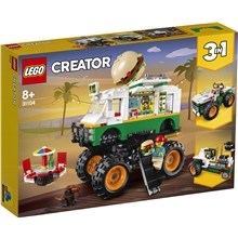31104 LEGO Creator Hamburgermonstertruck