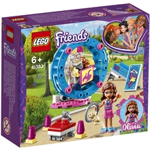 41383 LEGO Friends Olivias Hamsterlekplats