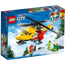 60179 LEGO City Ambulanshelikopter