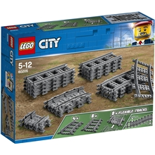 60205 LEGO City Trains Spår
