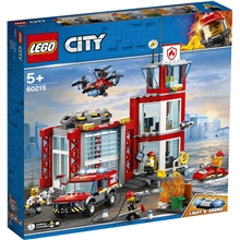 60215 LEGO City Brandstation