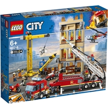 60216 LEGO City Brandkåren i Centrum