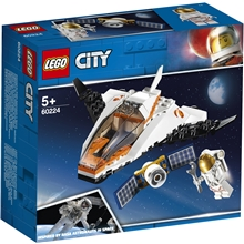 60224 LEGO City Space Port Satellitservice