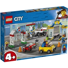 60232 LEGO City Town Fordonscenter