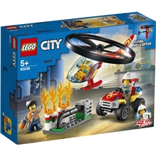 60248 LEGO City Fire Räddning Brandhelikopter