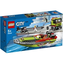 60254 LEGO City Great Vehicle Racerbåtstransport