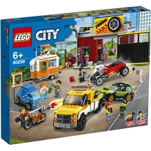 60258 LEGO City Turbo Wheels Bilverkstad