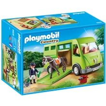6928 Playmobil Hästtransport