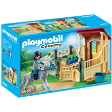 6935 Playmobil Hästbox Appaloosa