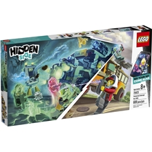 70423 LEGO Hidden Side Paranormal Jaktbuss 3000