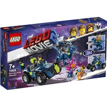 70826 LEGO Movie Rex Rex-trema Terrängbil