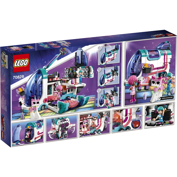 70828 LEGO Movie  Pop-up Partybuss (Bild 2 av 4)
