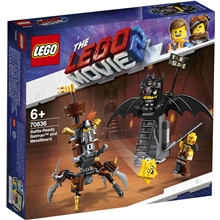 70836 LEGO Movie Metallskägget och Batman