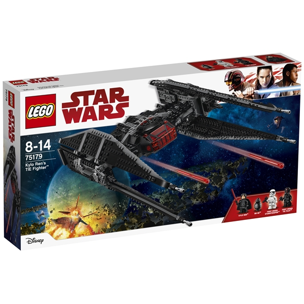 75179 LEGO Star Wars Kylo Ren's TIE Fighter (Bild 1 av 8)