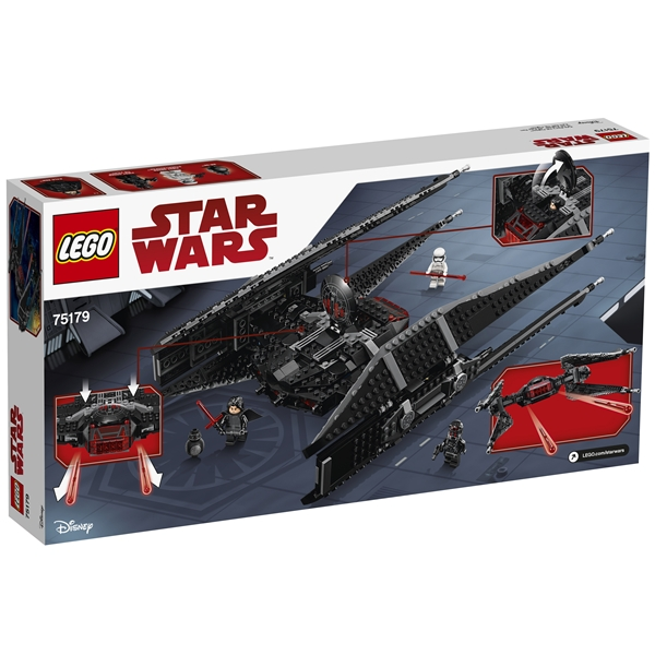 75179 LEGO Star Wars Kylo Ren's TIE Fighter (Bild 2 av 8)
